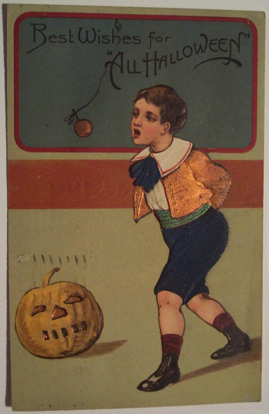 Ilustracion Halloween retro 160