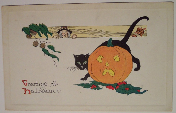 Ilustracion Halloween retro 161