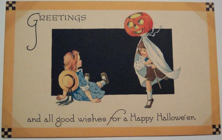Ilustracion Halloween retro 162