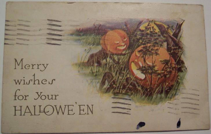 Ilustracion Halloween retro 163