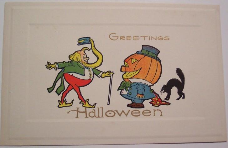 Ilustracion Halloween retro 165