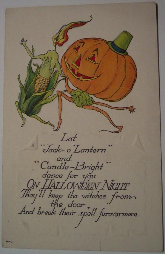 Ilustracion Halloween retro 166