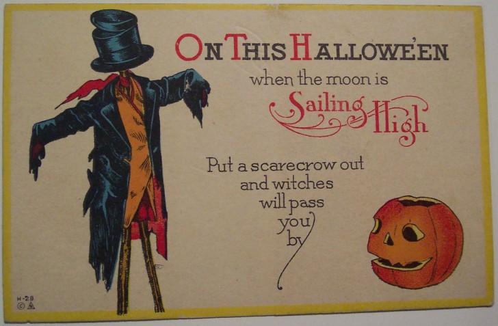 Ilustracion Halloween retro 167