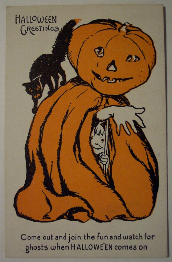 Ilustracion Halloween retro 169