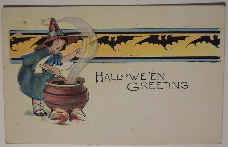Ilustracion Halloween retro 170