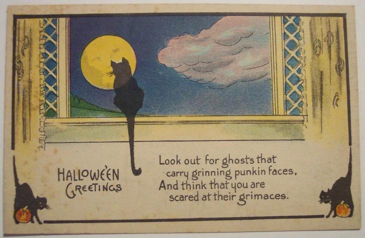 Ilustracion Halloween retro 171