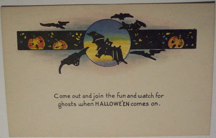 Ilustracion Halloween retro 174