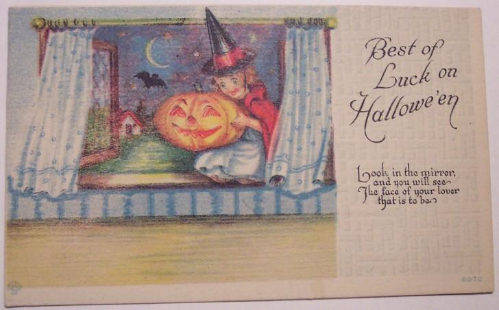 Ilustracion Halloween retro 175