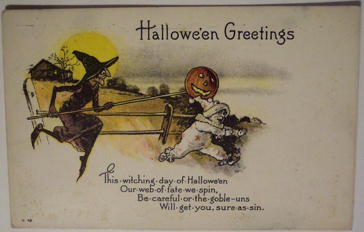 Ilustracion Halloween retro 176