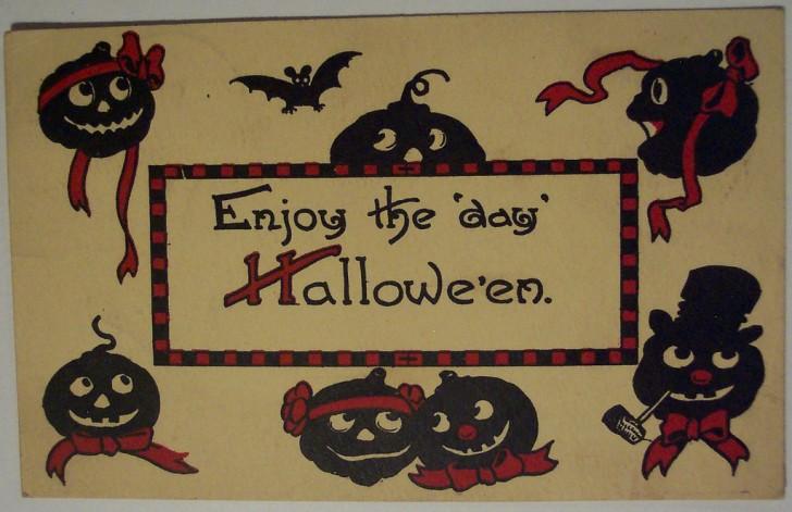 Ilustracion Halloween retro 178