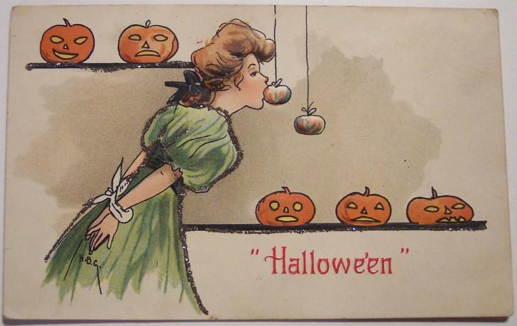 Ilustracion Halloween retro 180