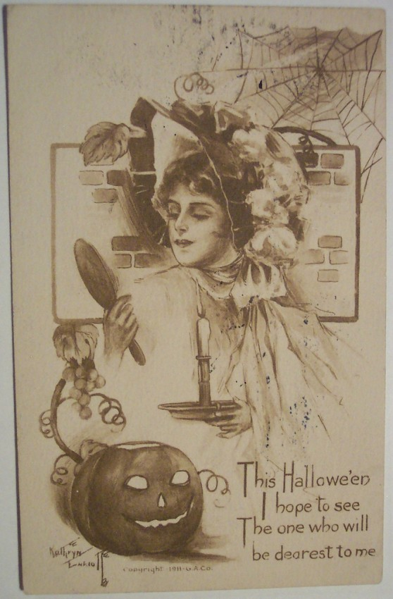 Ilustracion Halloween retro 182