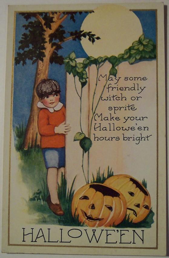 Ilustracion Halloween retro 184