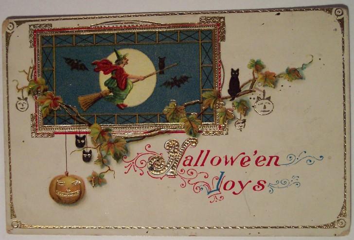 Ilustracion Halloween retro 186