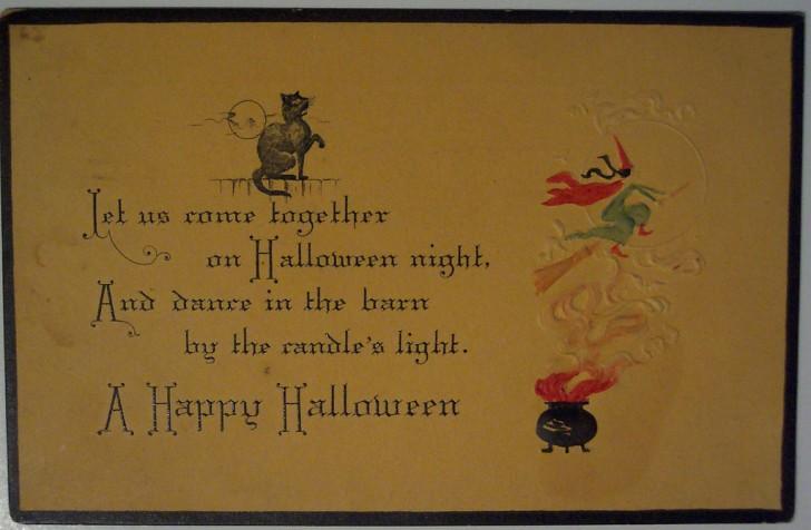 Ilustracion vintage Halloween 001