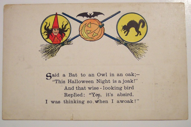 Ilustracion vintage Halloween 002