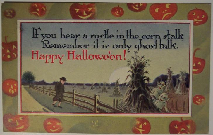 Ilustracion vintage Halloween 003