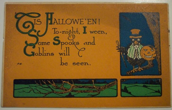 Ilustracion vintage Halloween 005
