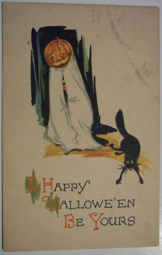 Ilustracion vintage Halloween 007