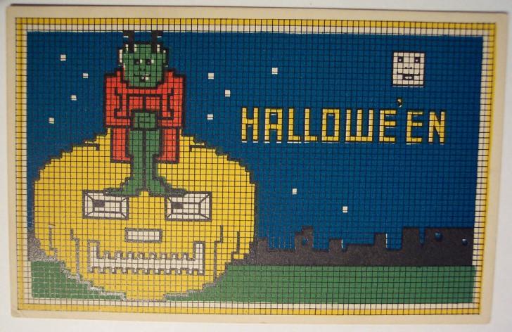 Ilustracion vintage Halloween 009
