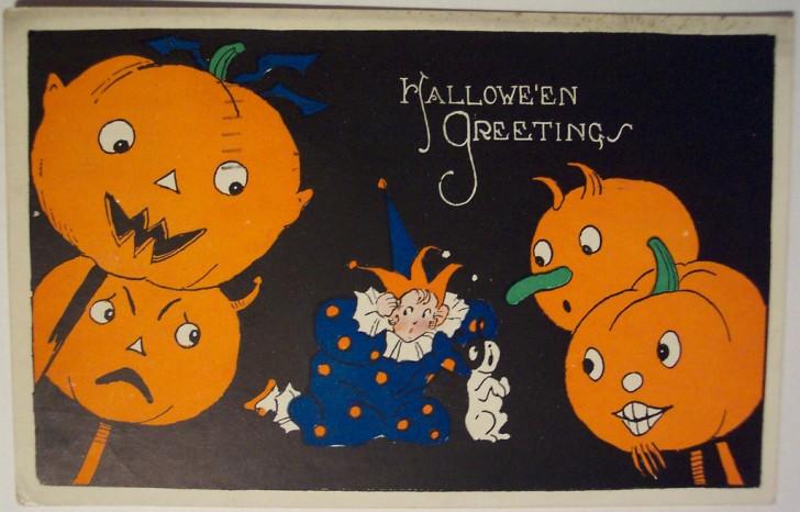 Ilustracion vintage Halloween 010