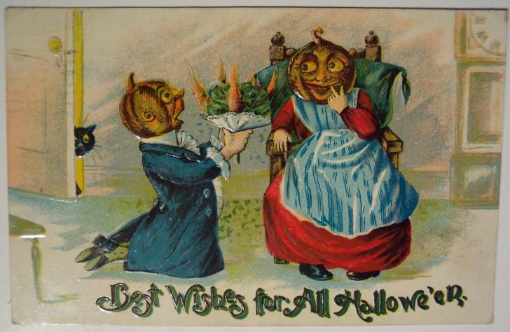 Ilustracion vintage Halloween 011