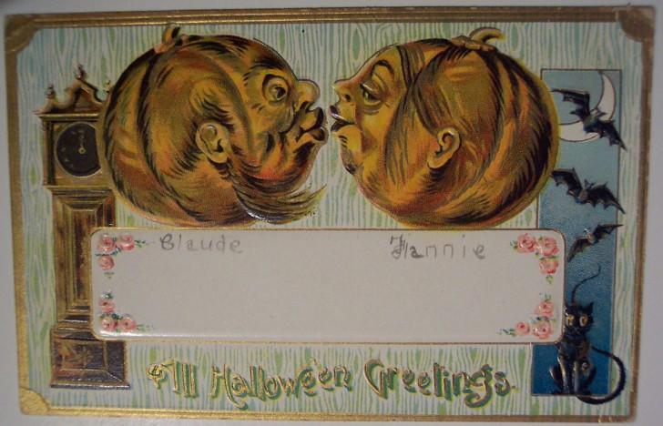 Ilustracion vintage Halloween 012