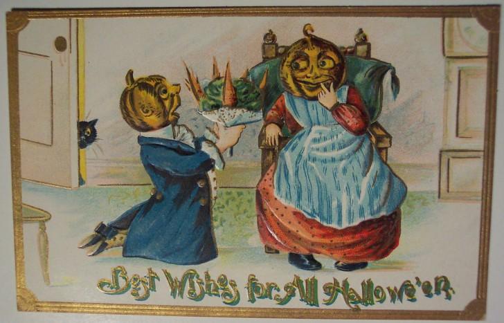 Ilustracion vintage Halloween 013