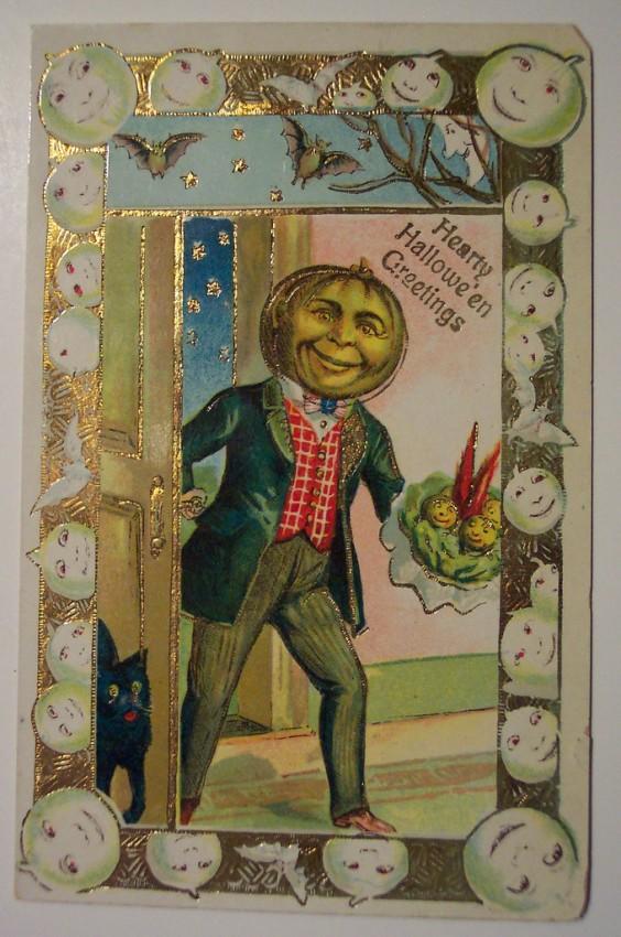Ilustracion vintage Halloween 015