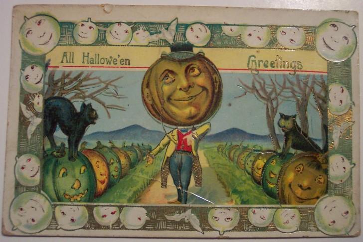 Ilustracion vintage Halloween 016