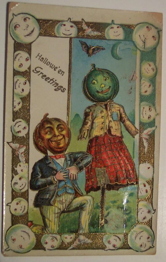 Ilustracion vintage Halloween 017