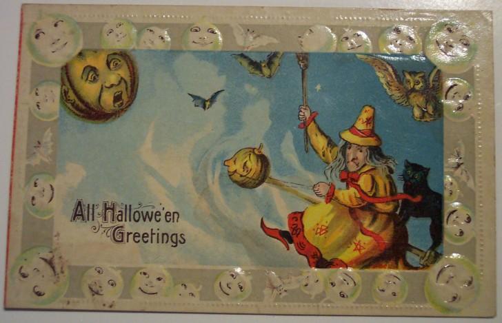 Ilustracion vintage Halloween 018
