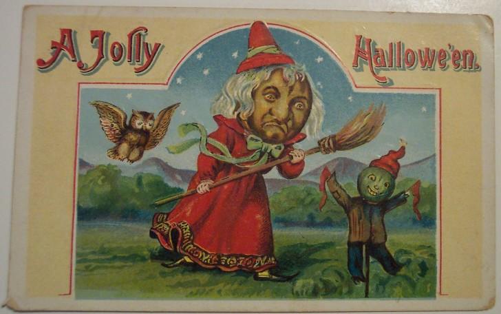 Ilustracion vintage Halloween 020