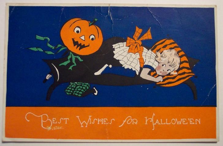Ilustracion vintage Halloween 021