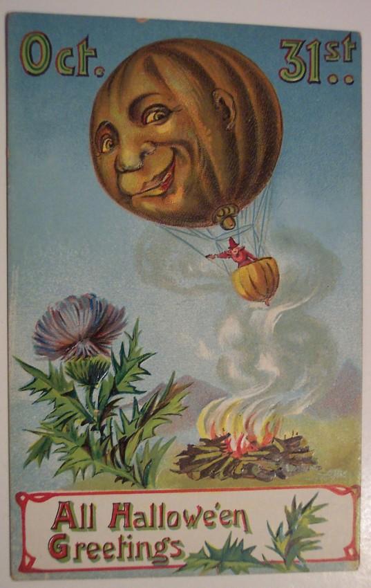 Ilustracion vintage Halloween 022