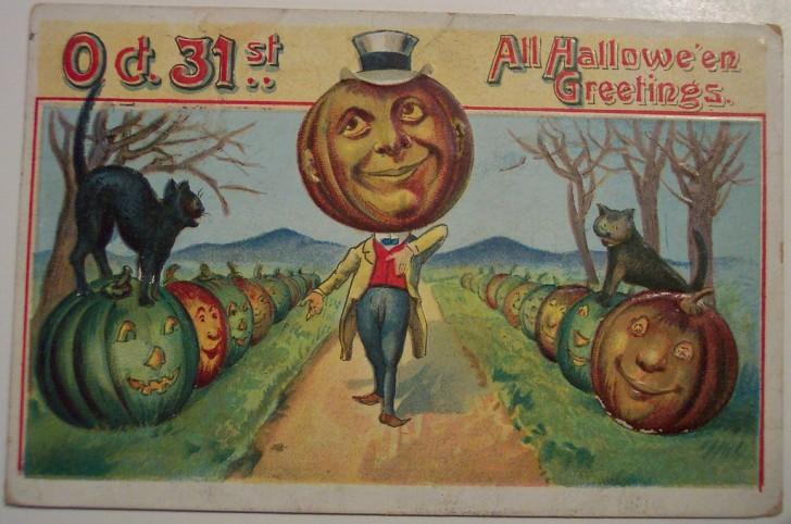 Ilustracion vintage Halloween 023