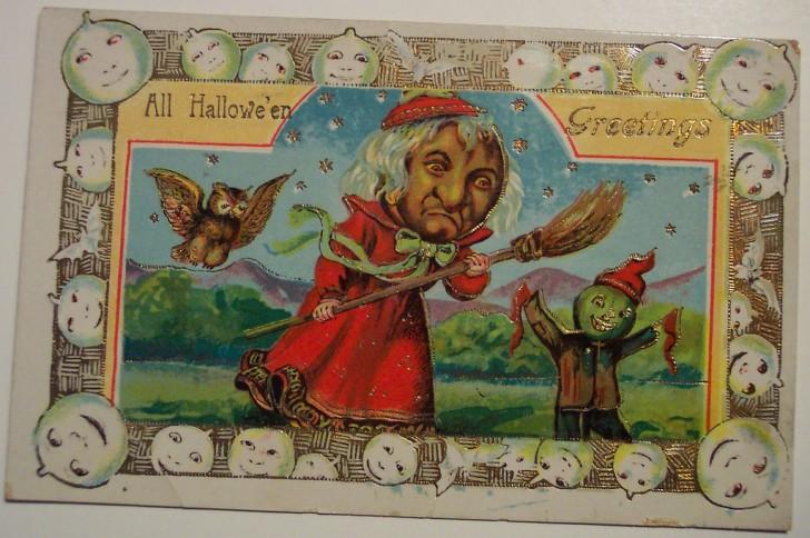 Ilustracion vintage Halloween 024