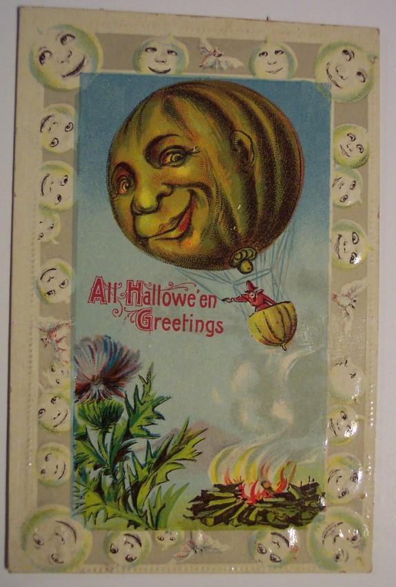 Ilustracion vintage Halloween 026