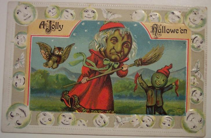 Ilustracion vintage Halloween 027