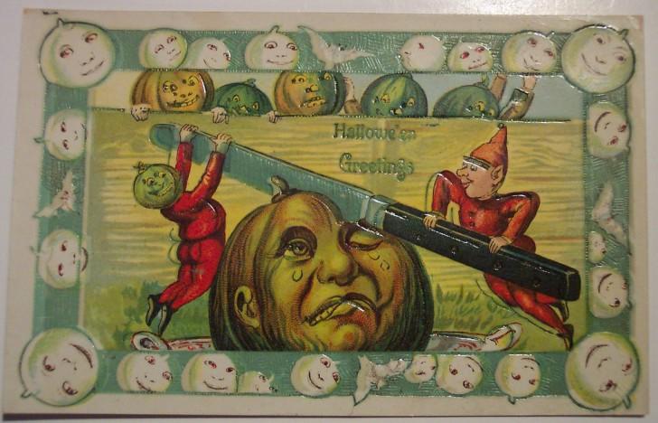 Ilustracion vintage Halloween 028