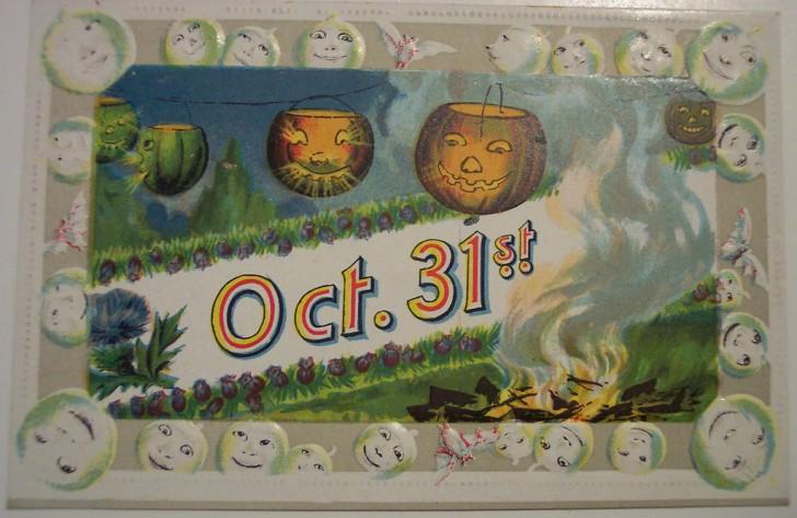Ilustracion vintage Halloween 029