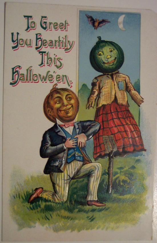Ilustracion vintage Halloween 030