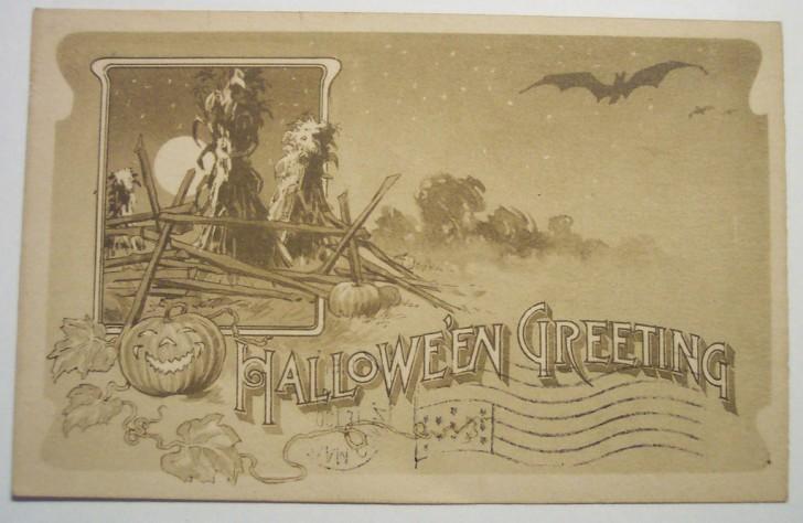 Ilustracion vintage Halloween 032