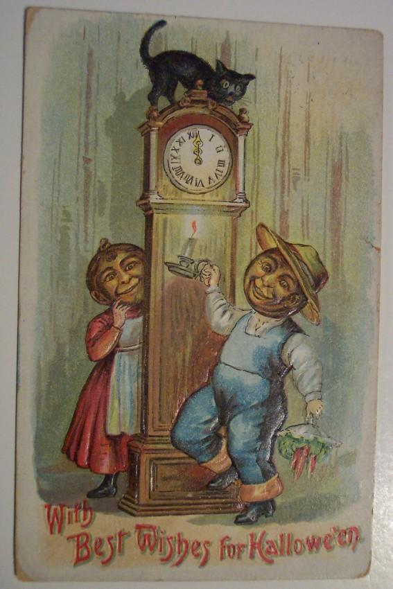 Ilustracion vintage Halloween 033