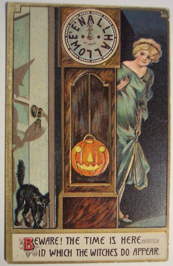 Ilustracion vintage Halloween 034