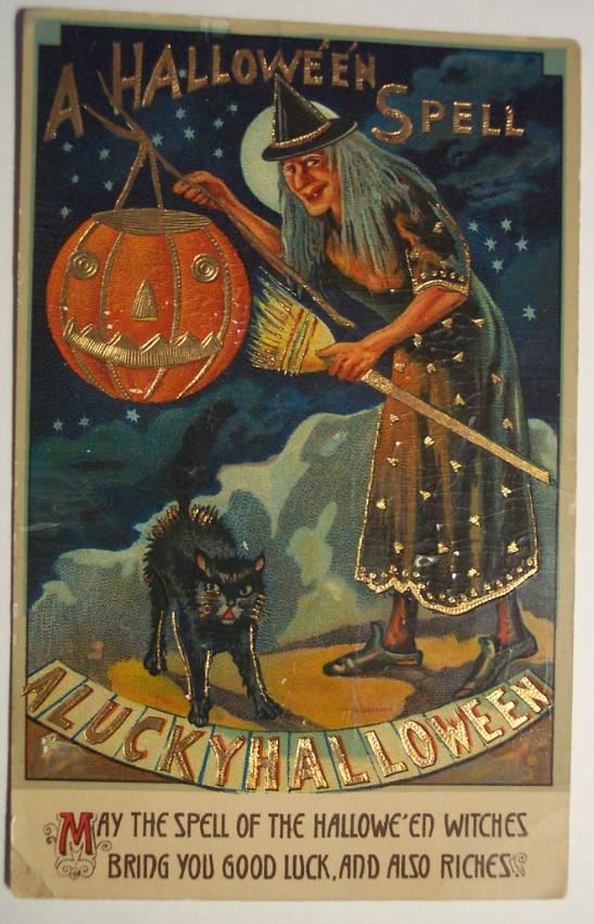 Ilustracion vintage Halloween 036