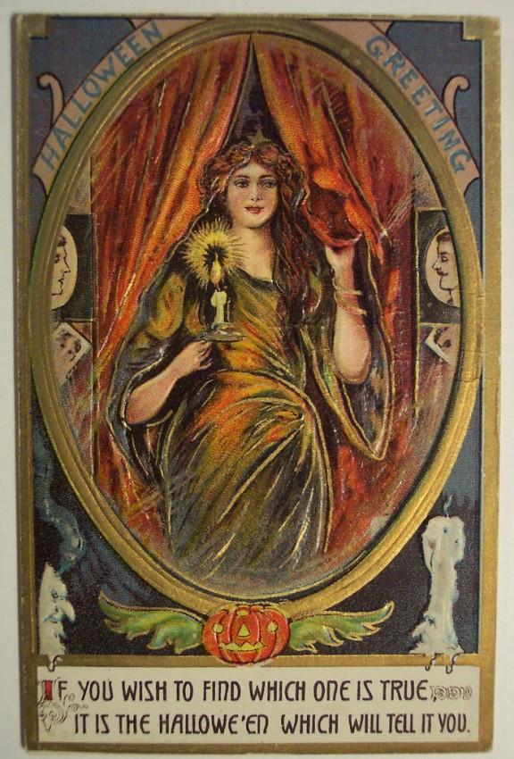 Ilustracion vintage Halloween 037