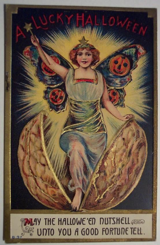 Ilustracion vintage Halloween 038