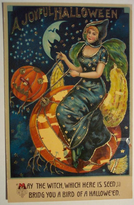 Ilustracion vintage Halloween 040