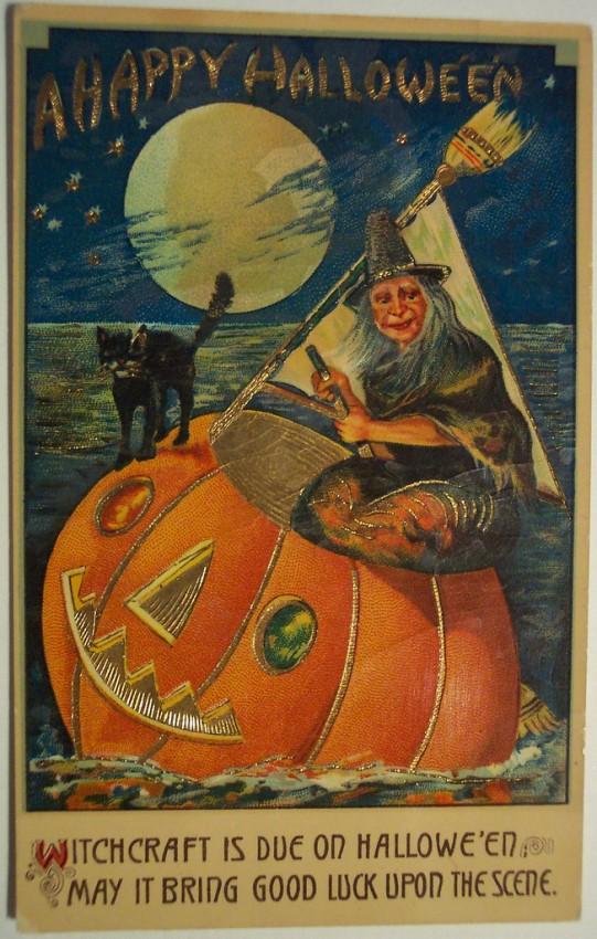 Ilustracion vintage Halloween 041